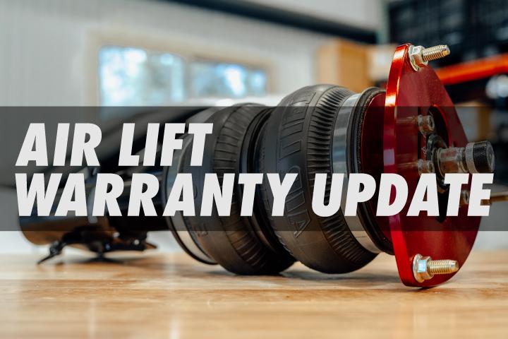 Air Lift Performance Warranty Update