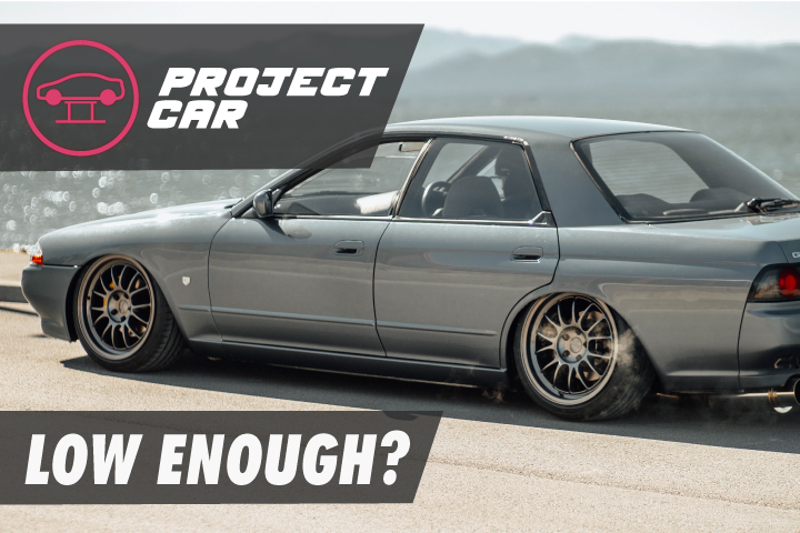 We overhauled the rest of our R32's suspension