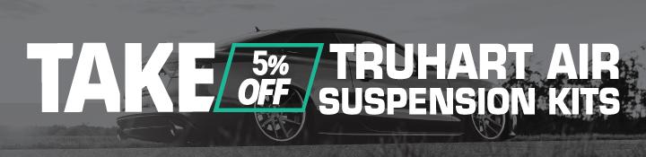 Truhart Air Suspension 5% Off Black Friday 2020