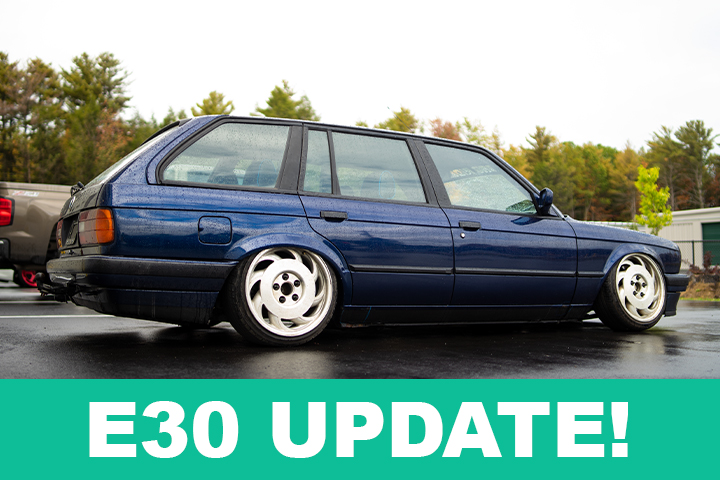 Video: What to expect from the BMW E30 Touring Project