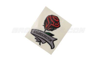 Bag Riders Rose Sticker