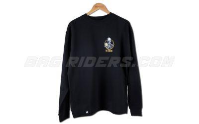 bag_riders_black_ontherocks_crewneck_front