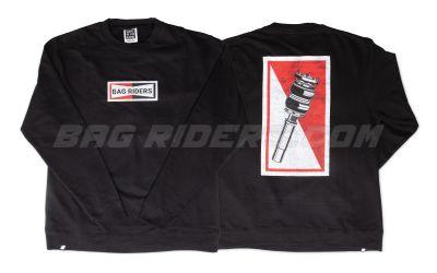 Bag Riders Champion Crew Neck - Black