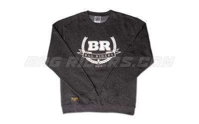 Bag Riders Crest Crew Neck - Charcoal