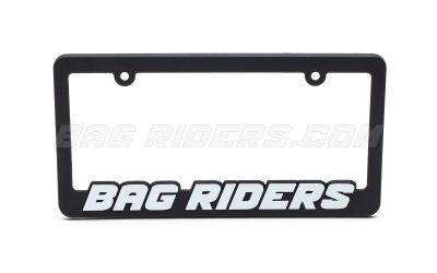 Bag Riders License Plate Frame