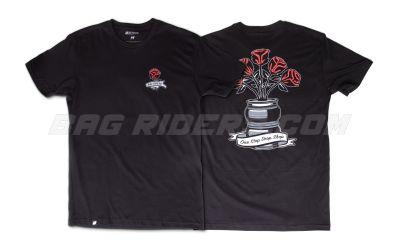 Bag Riders Rose Bag Shirt - Black