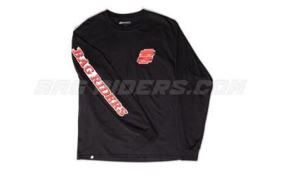 Bag Riders Zephyr Long Sleeve - Black